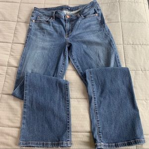 Level 99 High Rise Sandy Boot Cut Jeans Sz 33